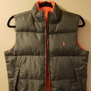 Kids Ralph lauren Reversable Polo vest